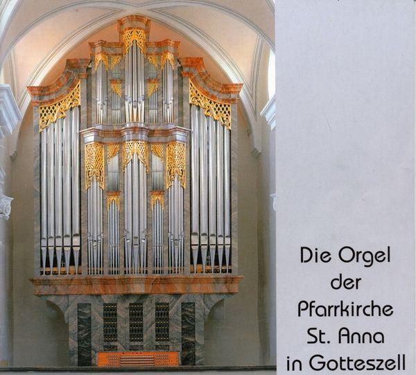 Die Orgel in der Pfarrkirche Gotteszell