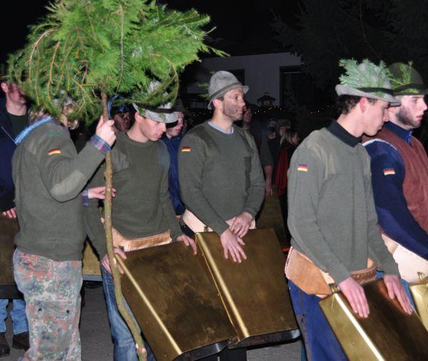 Wolfauslasser bei der Rauhnacht in Gotteszell