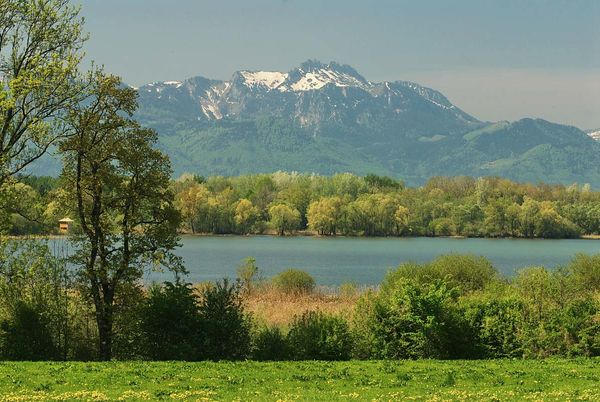 Blick auf Hirschauer Bucht