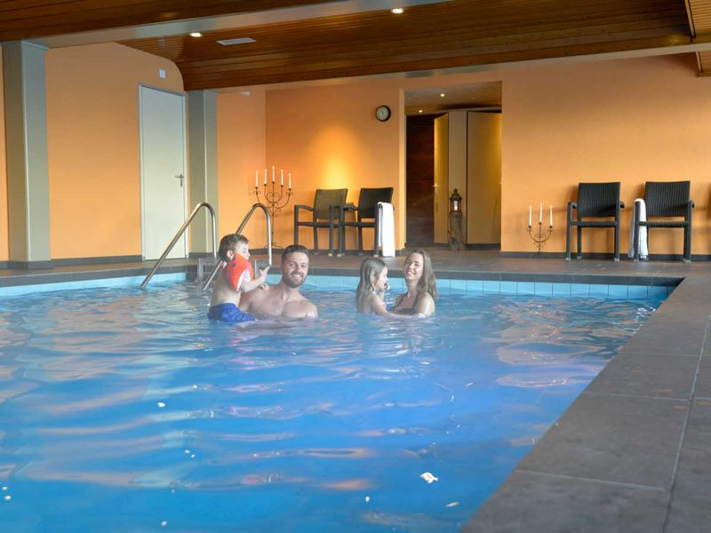 Indoor Pool Spa Hotel Hannigalp Family Holidays In Valais