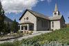 Kirche in Grächen Sommer