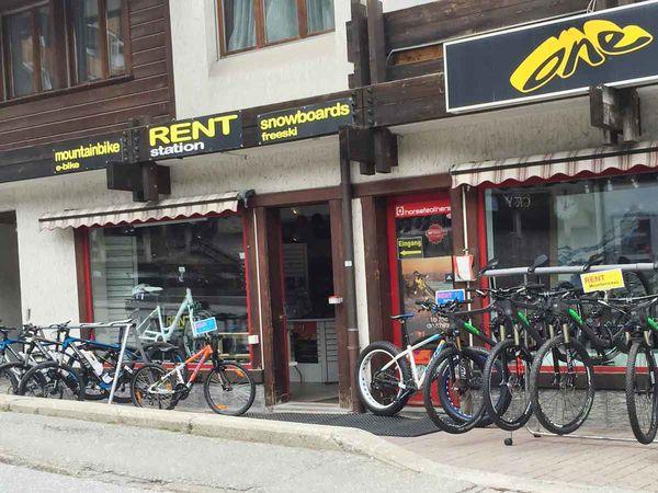 Vue d'extérieur du Bikeshop One sport