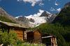 Riedgletscher- Ausblick von Gasenried mit Stadel