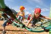 monde d'aventure dans le parc de familles SiSu