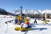 Ski-Karussell im SiSu Familienpark