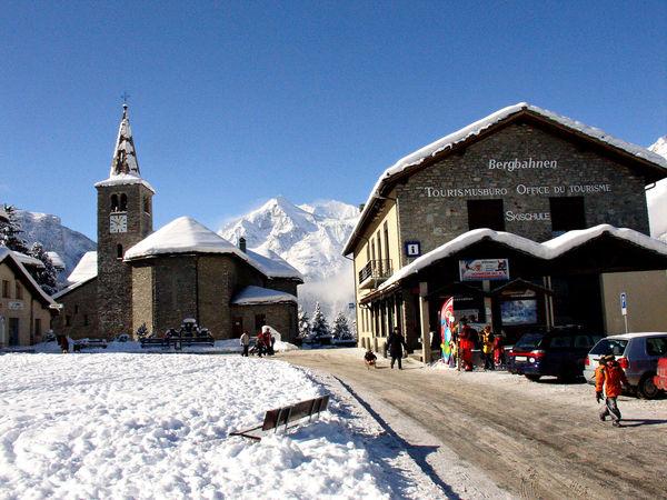 Office de tourisme Grächen en hiver