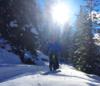 Fatbiker sur les trails de Grächen