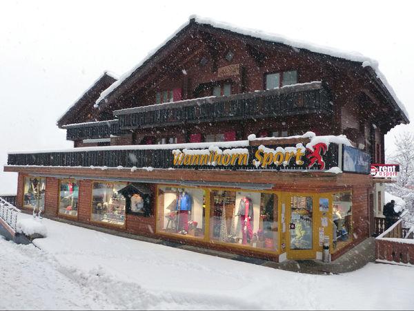 Vue extérieure Wannihorn Sport