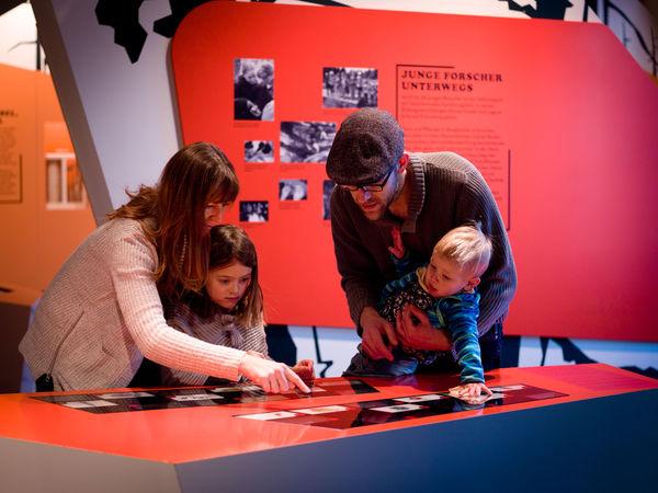 Interaktive Ausstellung im Hans-Eisenmannhaus im Nationalparkzentrum Lusen