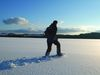 Wintererlebnis beim Schneeschuhwandern bei Grafenau am Nationalpark Bayerischer Wald