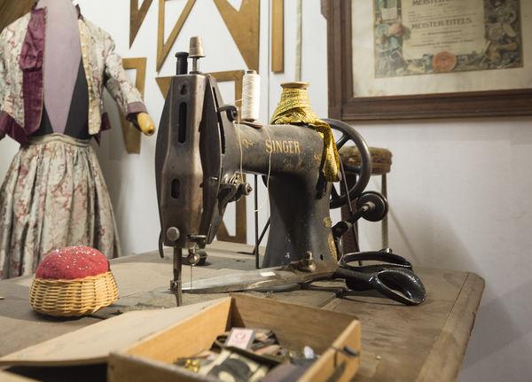 Nähstube im Stadtmuseum Grafenau