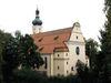 Blick auf die Stadtpfarrkirche MARIA HIMMELFAHRT in der Bärenstadt Grafenau