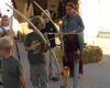 Kinderspaß beim Bogenschießen im Bogenshop Binder in Neudorf bei Grafenau