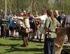Robin Hood mit Pfeil und Bogen beim Bogenshop Binder in Neudorf bei Grafenau