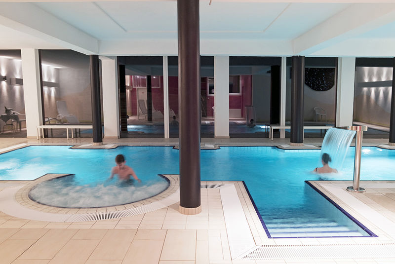 indoor swimming pool in hotel schiesselhof urlaubsland baden w rttemberg. Black Bedroom Furniture Sets. Home Design Ideas