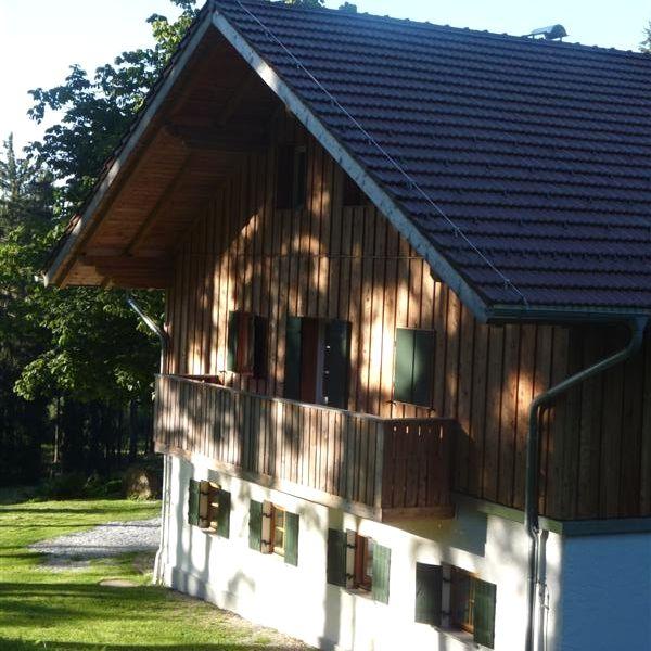 Das Berghaus Loderhart in der Gemeinde Grafling im Deggendorfer Land