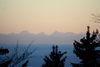 Blick vom Dreitannenriegel bei Deggendorf zum Alpenhauptkamm