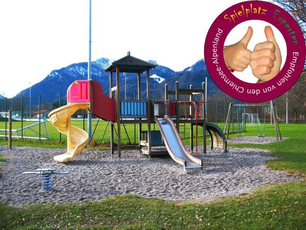 Spielplatz am Sportgelände in Grassau-©Tourist Information Grassau