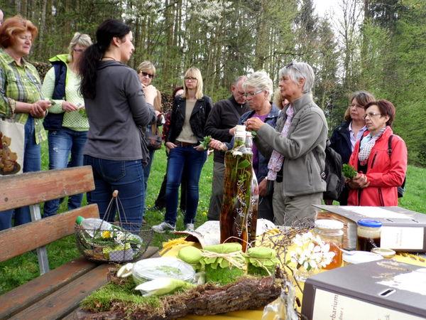 Interessantes über Kräuter von der Kräuterpädagogin bei Grattersdorf im Bayerischen Wald