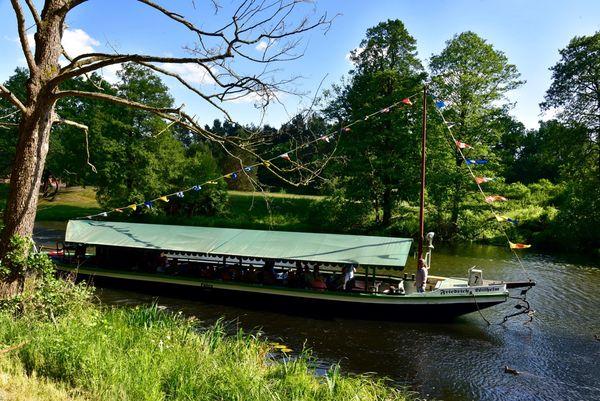 Treidelkahn auf dem Friedrich-Wilhelm-Kanal, Foto: Horst Berghäuser
