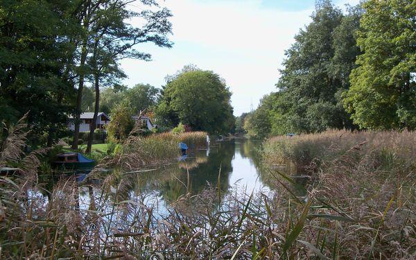 Friedrich-Wilhelm-Kanal in Schlaubehammer, Foto: Manuel Schmiele
