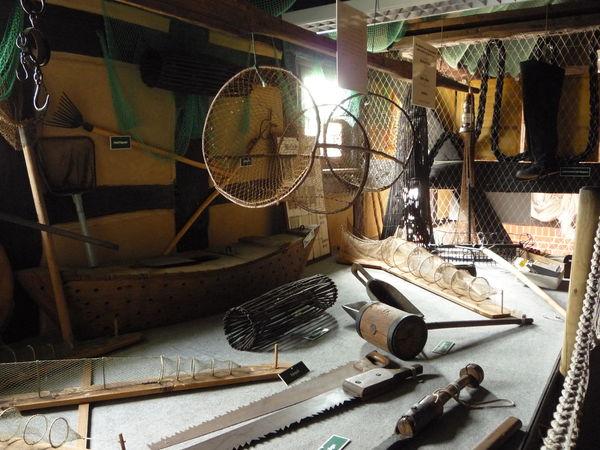 Innenraum Fischereimuseum, Foto: Häfner