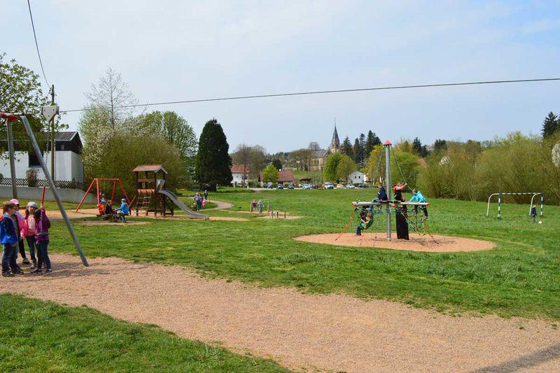 Spielplatz Wildfreigehege Karlsbrunn