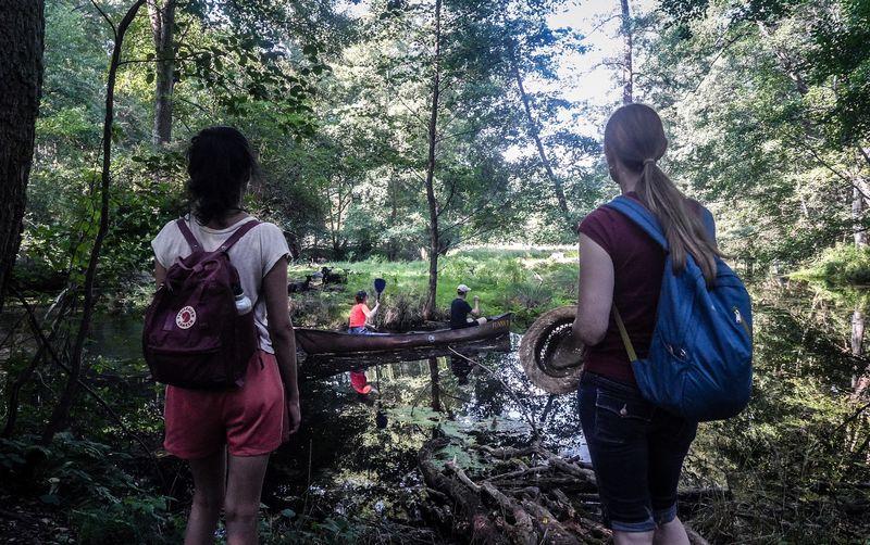 Im Kayak durch den Löcknitz-Dschungel - Spätaufsteher-Tour