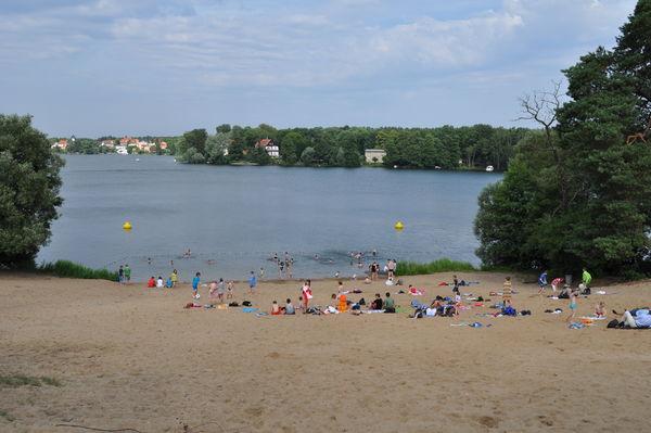 Peetzsee Strand, Foto: TI Grünheide