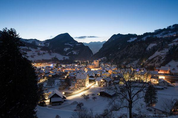 Dorf Grüsch