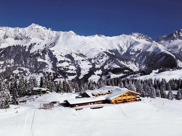 Bergstation des Familien Skigebietes Grüsch-Danusa