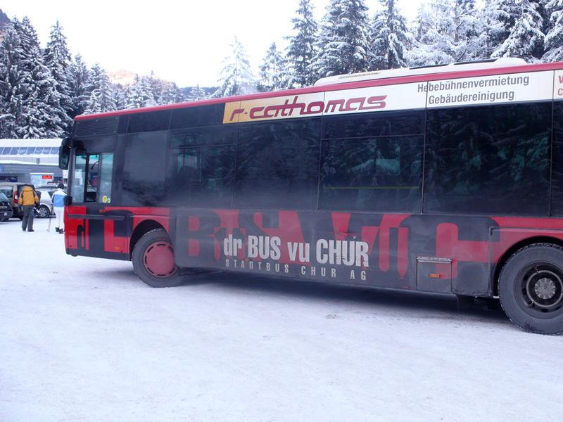 Skibus - dr Bus vu Chur
