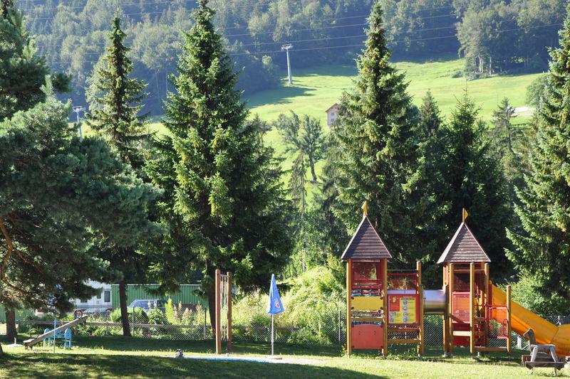 Spielplatz beim Hotel Grüsch in Grüsch