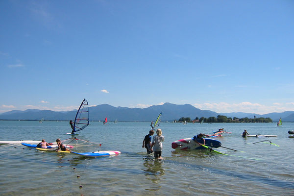 Surfen am Chiemsee
