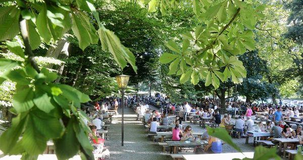 Biergarten Schloßallee in Haag an der Amper