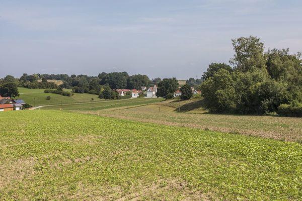 Verlauf des Xaverienthal bei Freising