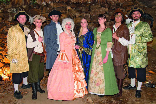 Alle zwei Jahre findet in Haibach bei Straubing Sommertheater statt.
