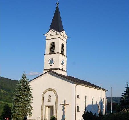 Die Pfarrkirche Elisabethszell in der Urlaubsregion St. Englmar