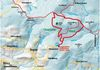 Streckenverlauf der Haidelloipe bei Grainet im Dreiländereck Bayerischer Wald
