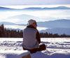 Blick von Obergrainet ins Tal