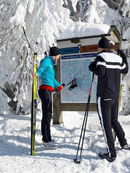 Langlaufgebiet Dreiländereck - Almberg, Haidel und Dreisessel