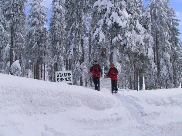 Schneeschuhwandern in Haidmühle