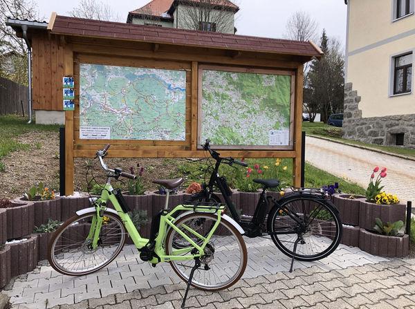 E-Bike-Verleih in der Tourist-Info Haidmühle