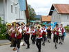 Blasmusik beim Festzug zum Bischofsreuter Volksfest im Dreiländereck Bayerischer Wald