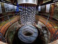 Nachbau des Forschungsreaktors im Atomkeller-Museum Haigerloch
