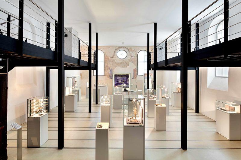 Dauerausstellung in der ehemaligen Synagoge Haigerloch