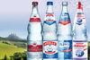 Die vier Mineralwassermarken