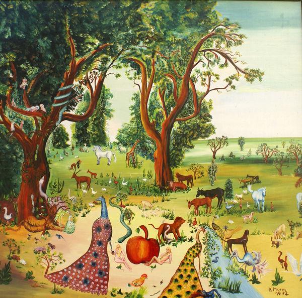 """""""Paradies"""" von Karl Hurm 1972"""