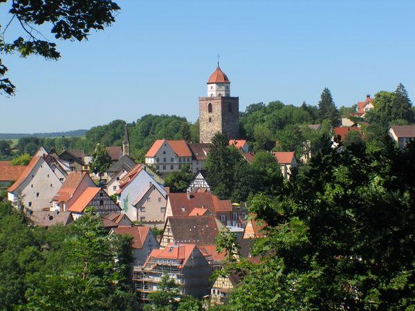 Ausblick vom Römerturm-Rundweg