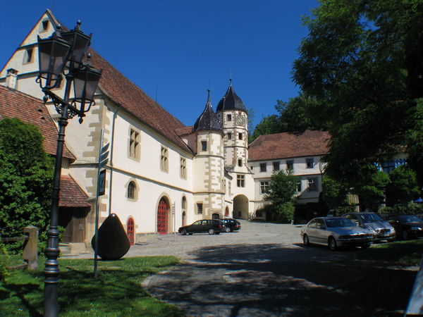 Der Schlosshof